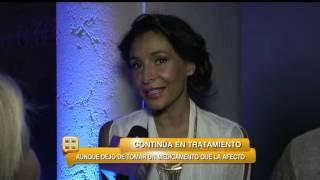 Cáncer afecta cadera de Lorena Rojas