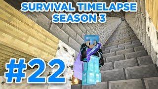 DESIGN DAY! | Minecraft Survival Timelapse Season 3 Episode 22 | GD Venus |