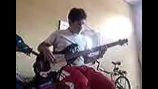 Jamin. Bassguitar. Mago de Oz, Fiesta Pagana.