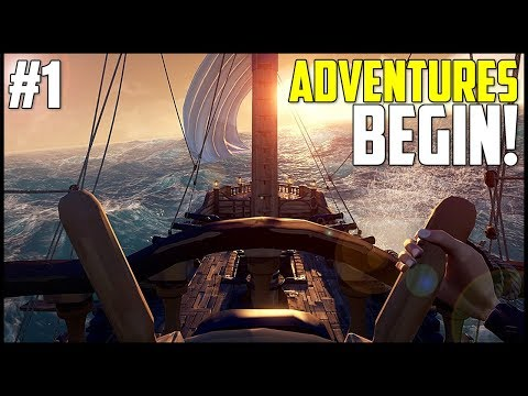 Xxx Mp4 THE ADVENTURES BEGIN SEA OF THIEVES RELEASE DAY Sea Of Thieves PC Xbox One Gameplay Ep 1 3gp Sex