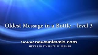 Oldest Message in a Bottle – level 3