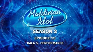 Maldivian Idol S3E19 | Full Episode