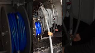 Dynachem Electric Vac Hose Reel