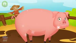 Dirty Farm Animals Care - Kids Learn how to Clean and Take Care of Farm Pets