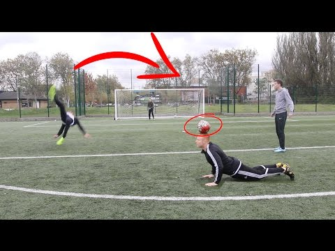 2V2 FOOTBALL VS ULTIMATE SKILLER🔥😅 (Football Challenges)