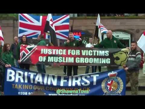 Xxx Mp4 Britain First Fighting Back Paul Golding Jayda Fransen Rotherham 6th Sept HD 3gp Sex