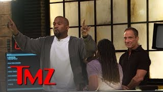Kanye West Stirs Up TMZ Newsroom Over Trump, Slavery, Free Thought | TMZ