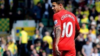 Philippe Coutinho Through Passes 2013-14