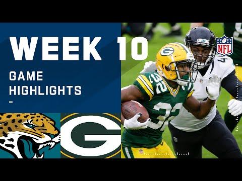 Jaguars vs. Packers Week 10 Highlights NFL 2020