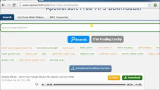 Recommendable MP3 search engine - free search and download songs