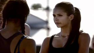 1x03 Cheerleading Scenes (HD) The Vampire Diaries