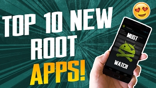 Top 10 Unique Root Apps! || Must Have Root Apps