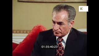 1978 Shah of Iran on Censorship, Pre Revolution Iran in HD