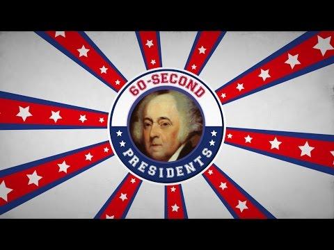 John Adams | 60-Second Presidents | PBS