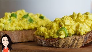 Best Ever Vegan Egg Salad Recipe - Great for Sandwiches!