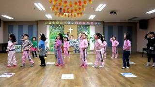 Preschool Dance Presentation - Stories in the Bible