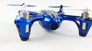 Review and How to of HUBSAN X4 H107C Quadcopter Drone with HD Camera (Special Cobalt Edition )
