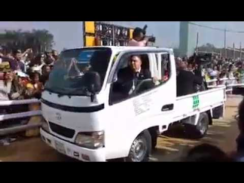 welcome to bangladesh pope Francis