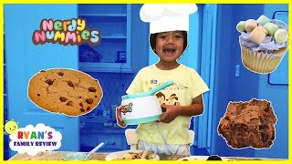 Kids Fun Baking Cookies and Brownie with Ryan's Family Review