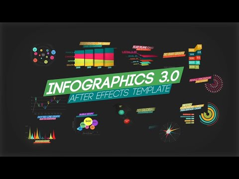 Infographics 3.0 After Effects template