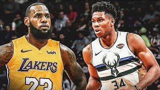 LeBron James Forces Giannis To Join Lakers By Holding His Brother Hostage (Parody)