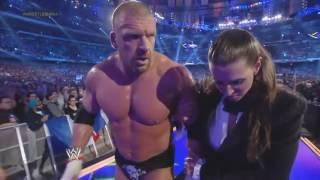 WWE WrestleMania 30: Daniel Bryan vs Triple H/ Bastista vs Randy Orton Highlights