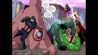 MARVEL UNIVERSE AVENGERS ASSEMBLE INFINITE COMIC # 5 [ENG] (2016)
