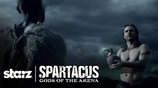 Spartacus | Gannicus Sings - Scene Clip From Spartacus: Gods of the Arena | STARZ