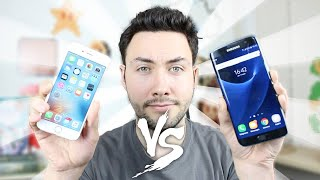 iPhone 6S VS Samsung Galaxy S7 / Edge : Le Gros Comparatif !