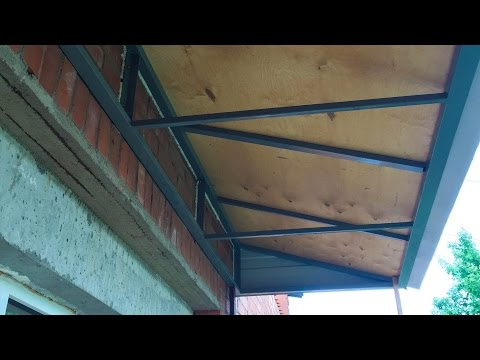 Устройство крыши для балкона. - urban vibes youtube unblocke.