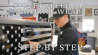 Street Speed 717 Dirty Max American Flag Wrap