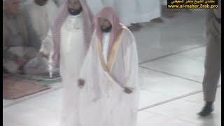 الشيخ ماهر المعيقلي يبدع في صلاة الفجر وهو مريض