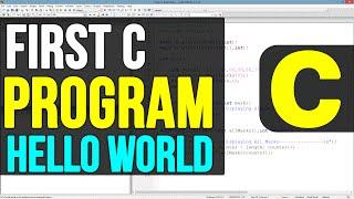 04 | Creating First Program ( Hello Wolrd ) in C Programming Language Video Tutorials
