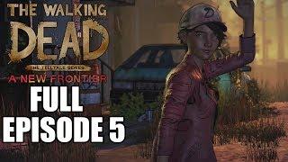 The Walking Dead Season 3 FULL EPISODE 5 Gameplay Walkthrough Ending - No Commentary