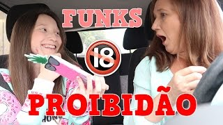 MINHA MÃE REAGINDO AOS FUNKS PROIBIDÃO! # 2