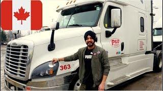 Canada Truck Driver Punjabi (Toronto to Michigan)