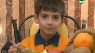 پسر بچه خام گیاهخوار