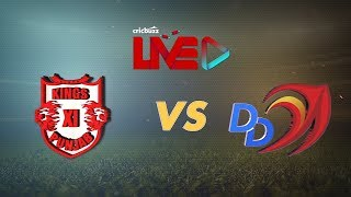 Cricbuzz Live: KXIP vs DD Mid-innings show