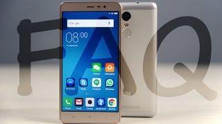 Redmi Note 3 FAQ - Gorilla Glass, SAR, OTG, Camera, FM Radio & more...