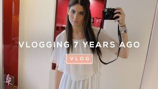 VLOGGING 7 YEARS AGO | Lily Pebbles