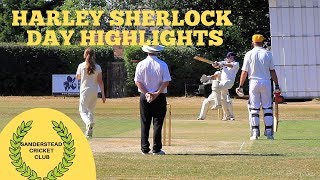 Sunday Cricket: Harley Sherlock Day 15th July 2018 (see the cameraman play!)