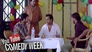 Dhee Telugu Movie - Brahmanandam Drunk Comedy Scene  (Vishnu Manchu , Genelia D'Souza )