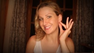 ASMR EAR cleaning with REFLEXOLOGY and CLOSE UP binaural whispers