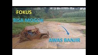 Kekuatan jimny JANGKRIK 4x4  MELEWATI sungai | offroad extreme