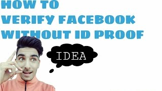 HOW TO VERIFY FACEBOOK WITH FAKE ID PROOF