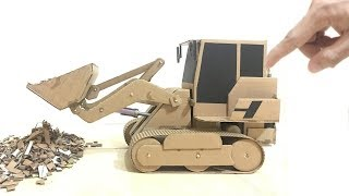 RC Homemade   How To Make RC Heavy truck Remote Control Hydraulic Bulldozer easy homemade