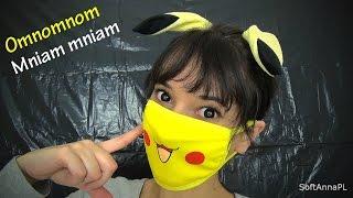 [ENG SUB] Creepy Pikachu is Feeding You l Omnom, Mniam mniam l Polish Binaural ASMR