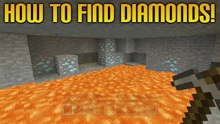 ★Minecraft (Xbox + Playstation) 5 COOL TIPS TO FIND MORE DIAMONDS (Minecraft Tips & Tricks)★