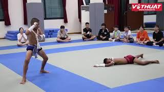 Thiếu nhi Thái Lan gây sốc tại Hội trại Võ thuật Thiếu nhi Thế giới