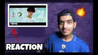 ردة فعلي على فيديو كليب { الاخضر}    REACTION    دايلر